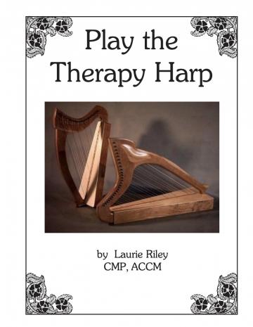 """Buch /""""Basic Harp for Beginners/"""" von Laurie Riley NEU"""
