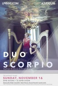 Duo Scorpio at Le Poison Rouge