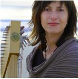 Greek harpist Elisa Vellia is the inspiration behind the Ulysse model harp.
