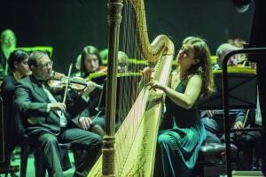Anaëlle Tourret: Israel harp contest