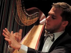 Sasha Boldachev, harp