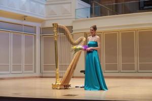 Marta Marinelli, 2013 Silver Medalist performing Laureate Recital last night, June 11