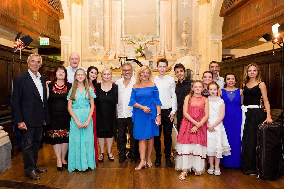 "Winners of the 2016 International Harp Contest ""Suoni d'Arpa"""